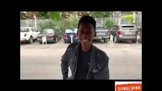 Meet the youngest magician in Nigeria who turned a receipt paper into money live on the street