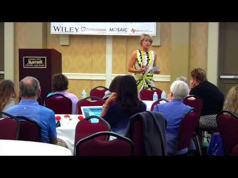 Caroline Miller | Authentic Grit Keynote at ICF Conference