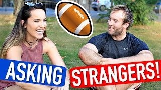 Quizzing British Guys on American Sports!
