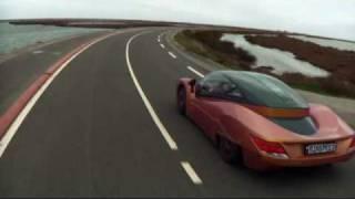New Rinspeed iChange Concept Car Driving