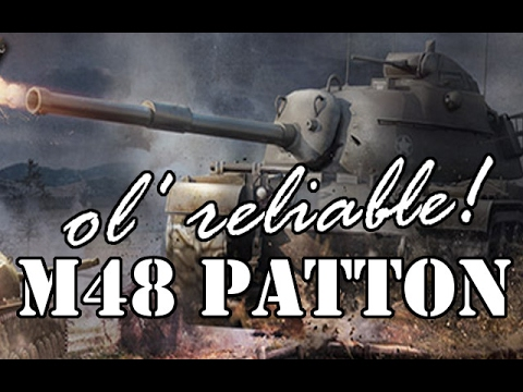 M48A1 Patton Ol' reliable! (World of Tanks Xbox1/PS4)