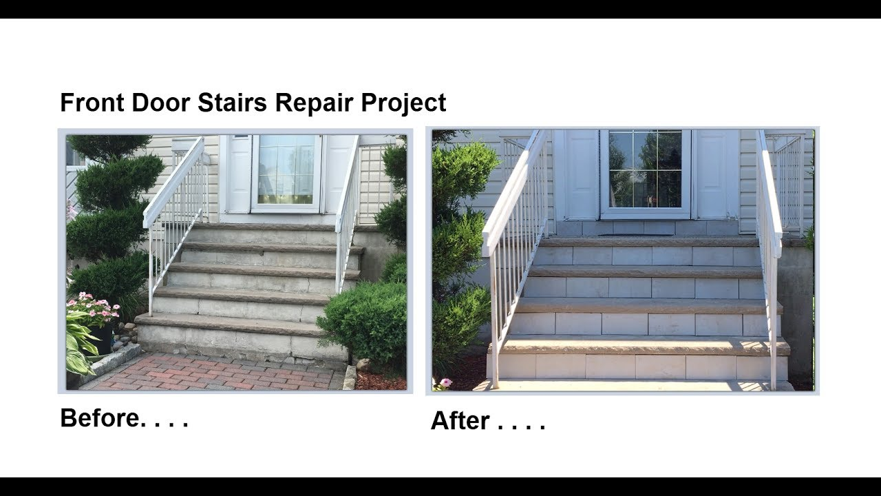 Charmant Front Door Steps Repair