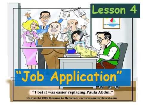 ๋Job Application- คำศัพท์และการเขียนประวัติภาษาอังกฤษ