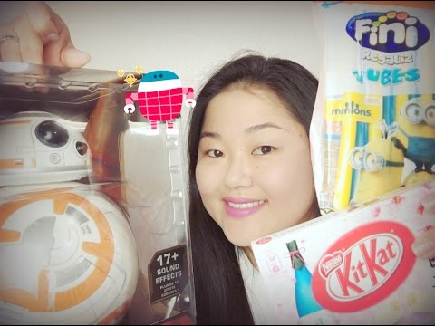 KitKat de Sake, BB-8 e doce dos Minions