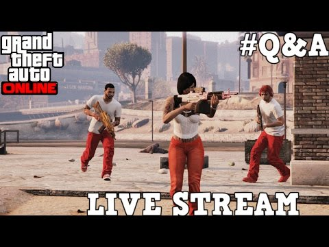 Grand Theft Auto Online | KingTay Tv | KTG Live Q&A!