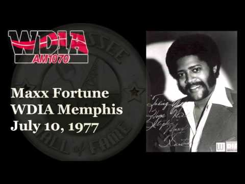 WDIA Memphis Maxx Fortune July 10, 1977