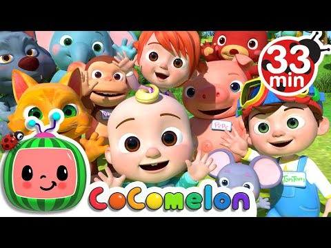 My Name Song  +More Nursery Rhymes & Kids Songs  ABCkidTV