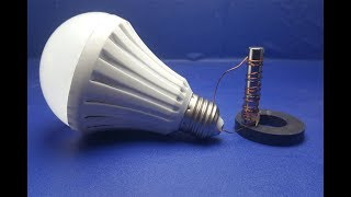 Free Energy light blub device with magnet mini 100%  - New idea