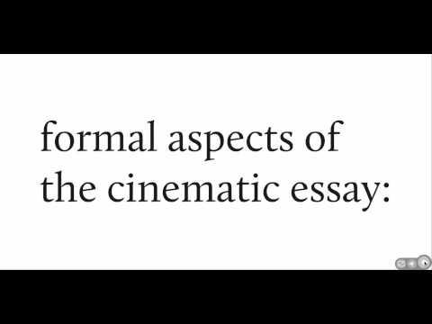 what is a video essay  what is a video essay