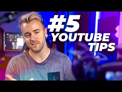 5 Huge Tips For Making Your First YouTube Videos