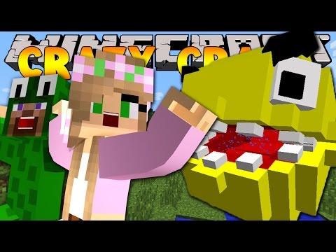 Minecraft Crazy Craft 3.0 : PACMAN ATTACKS! #1
