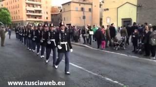"""Scuola sottufficiali - L'esercito """"invade"""" il centro storico"""