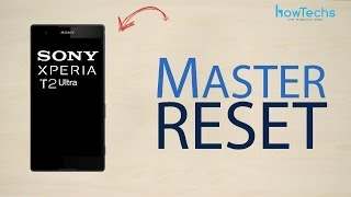 sony xperia t2 ultra how to master reset