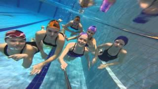 GOPRO девочки, синхронное плавание