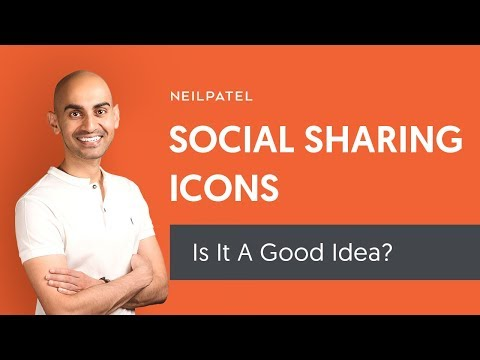 Should You Place Social Sharing Icons On Your Website?