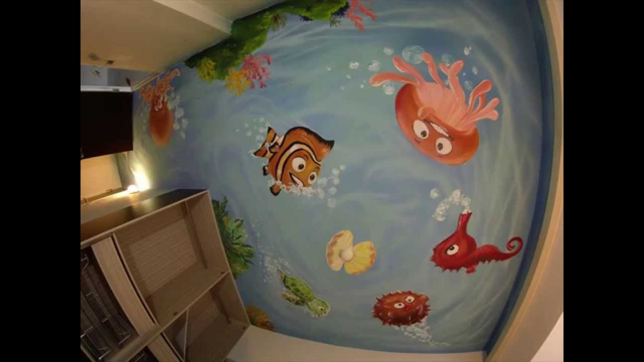 Mural - Wall painting - by Picabbo - --Q- YouTube