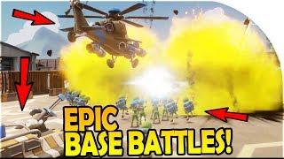 EPIC BASE DEFENSE + WARS with MASSIVE ARMIES - FREE Android / iOS Game - Mighty Battles Gameplay