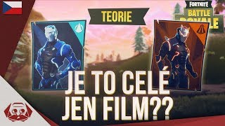 It's all just a movie? -Theory Of Fortnite Battle Royale CZ