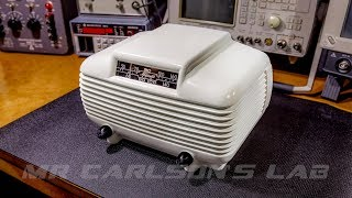 BEAUTIFUL 1940's Majestic Radio Receiver Restoration!