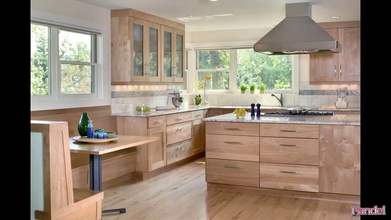 Beech Kitchen Cabinets Youtube