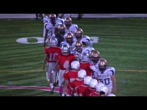 Catholic Memorial Freshman Football vs. Malden High School