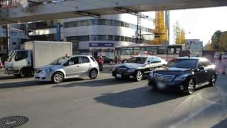 【きらきらパレード】熊本県警察 熊本中央署 交通規制各車両