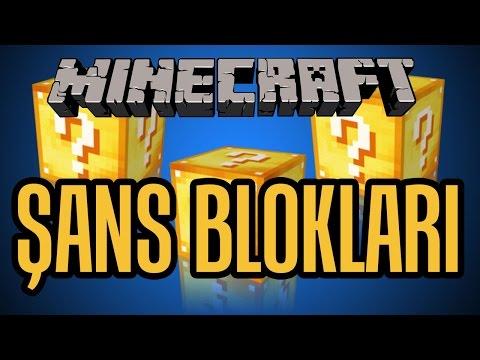 MINECRAFT: Survival #18 - ŞANS BLOKLARI!!!