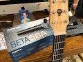 Shure Beta 58A: Recording Acoustic Guiar