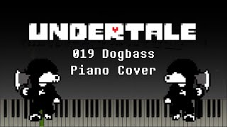 Undertale - 019 Dogbass (Piano/Synthesia)