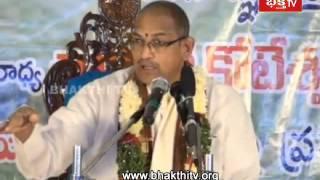 Srisaila mahathyam - chaganti speech on brahmins life || epi 4(2)