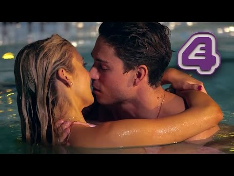 Joey Essex & Stephanie Pratt Kiss in the Pool  Celebs Go Dating