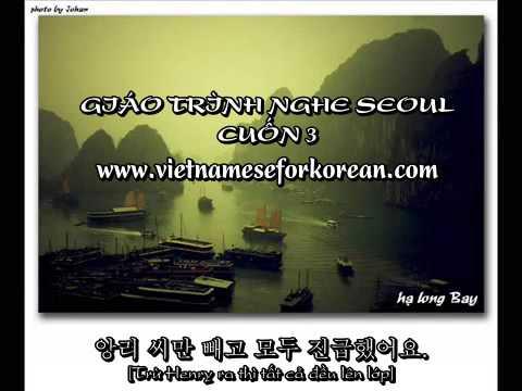 Giáo trình Seoul cuốn 3 - Bài 1 đến bài 3 [www.vietnameseforkorean.com]