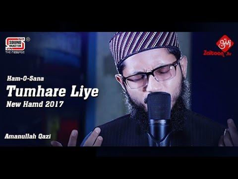 Tumhare Liye | Hafiz Amanullah Qazi | New & Beautiful Hamd 2017 | Best Hamd o Naat, Zaitoontv