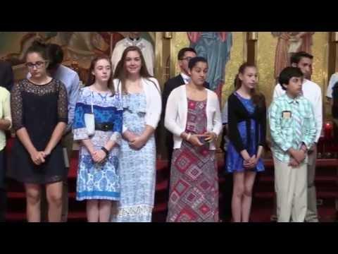 Sunday School Graduation 2016