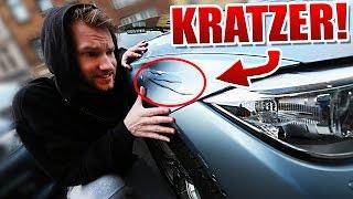 AUTO von ELTERN ZERKRATZT!