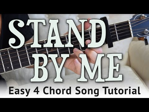 """Stand By Me"" Easy Guitar Tutorial - Ben E. King 