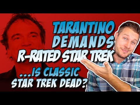 Quentin Tarantino Demands His Star Trek is Rated R!  Meets With Writer of The Revenant