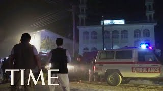 At Least 60 Dead After Suicide Bombers Attack Mosques In Afghanistan | TIME