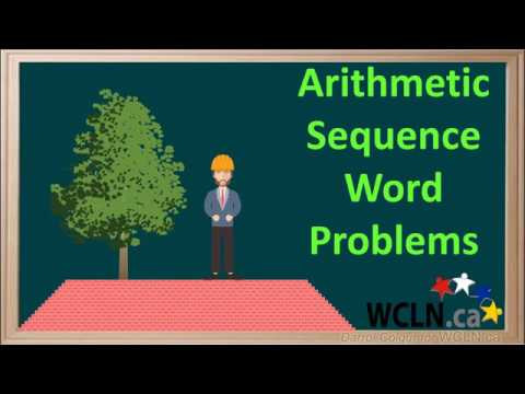 WCLN - Arithmetic Sequence Word Problems