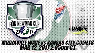 Central Div Championships Game 2 - Milwaukee Wave vs Kansas City Comets