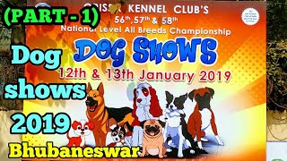 Dog shows -2019 Bhubaneswar