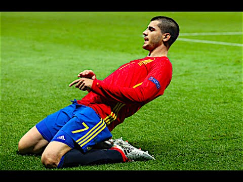 Alvaro Morata - Ultimate Speed Dribbling Skills