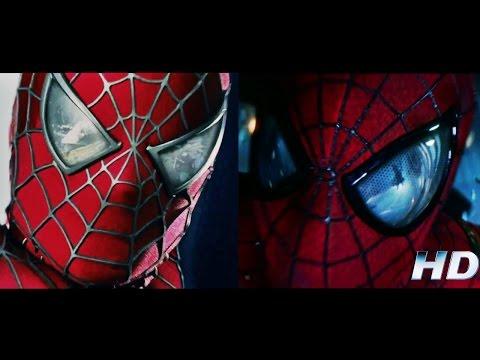 Spiderman 3 & The Amazing Spiderman 2 - Saving Gwen HD