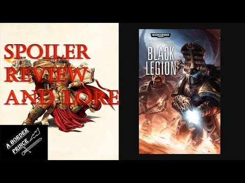 Warhammer Novel Review and Lore: Black Legion by Aaron Dembski-Bowden