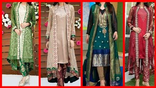 Beautiful latest gown shirt designs stylish and latest dress designs