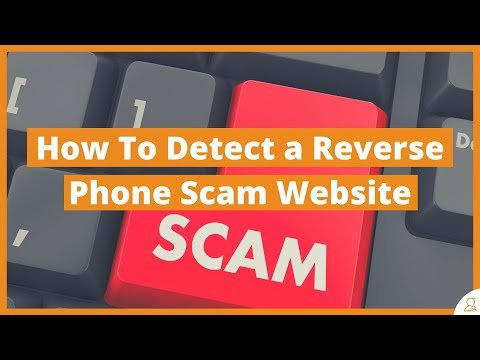 How to Detect A Reverse Phone Scam Website
