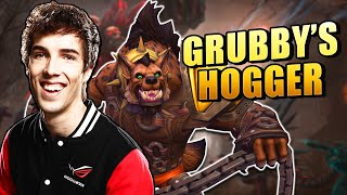Grubby Plays Hogger! | Hoġger Gameplay w/ Grubby - Heroes of the Storm 2020 Gameplay + New Hero