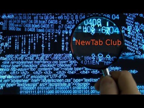 Как удалить new tab
