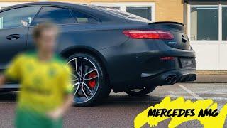 NCFC Star's Mercedes E53 - Satin Black Wrap 💛💚The Bodycentre Ltd Norwich