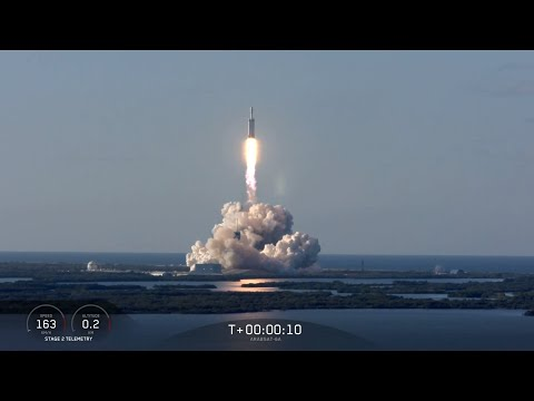 SpaceX bags Falcon Heavy hat-trick rocket landing
